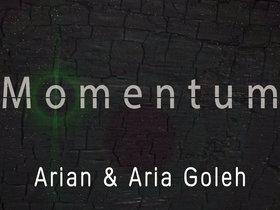 "Arian & Aria Goleh ""New Podcast: Momentum"""