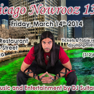 Nowrooz 1393 - CHICAGO - REZA's Downtown - DJ SULTAN