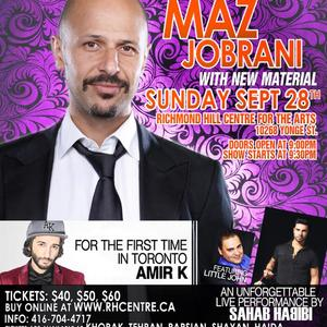 A Night of Comedy With Maz Jobrani