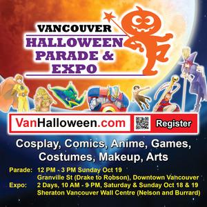 Vancouver Halloween Parade & Expo 2014