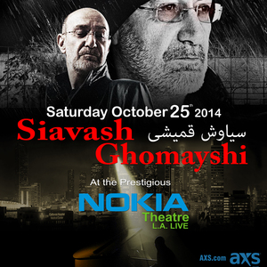 Siavash Ghomayshi @ NOKIA Theatre,  Los Angeles