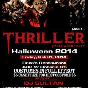 Thriller 2014 (Halloween Party)