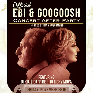 Official Ebi & Googoosh Concert After Party