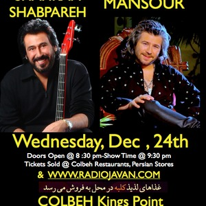 Shahram Shabpareh & Mansour Live in Concert