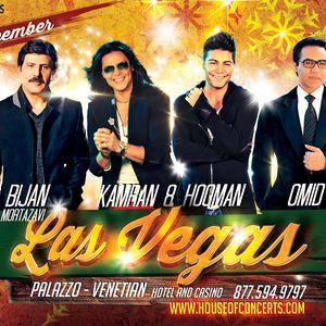 Bijan Mortazavi, Kamran & Hooman, Omid Live In Vegas