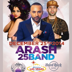 Arash and 25 Band Live In Vegas