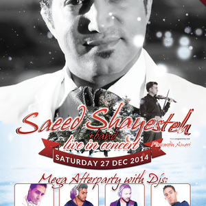 Saeed Shayesteh Concert