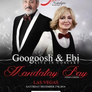 Googoosh & Ebi Live In  Concert