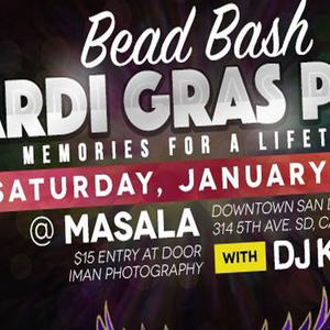 Bead Bash Mardi Gras Party