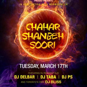 Radio Javan Chahar Shanbeh Soori Party in Toronto