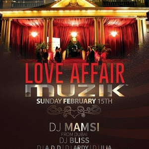 Love Affair - DJ Mamsi Live