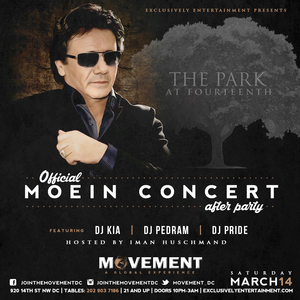 Official Moein Concert After Party at The Park at 14th