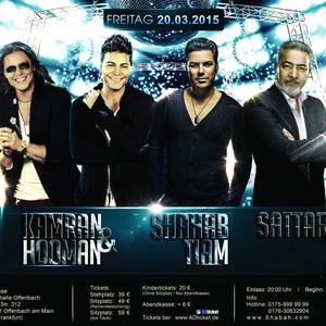 Kamran & Hooman, Shahab Tiam & Sattar Live in Concert