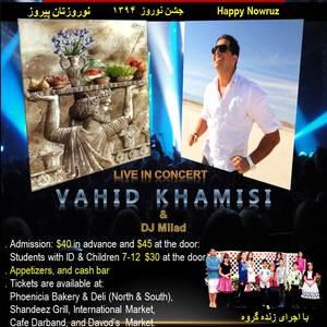 Vahid Khamisi Live In Concert