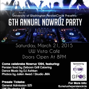 6th Annual Nowruz Party