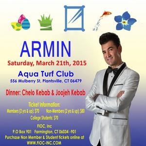 FIOC Nowruz Party 1394 with ARMIN
