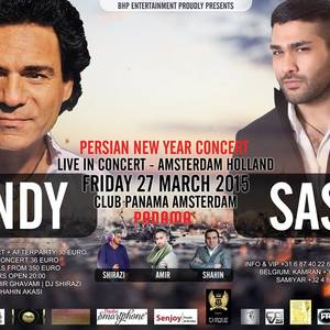 Andy & Sasy Live In Concert
