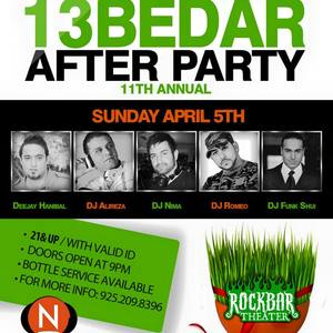 The Official 13Bedar Afterparty