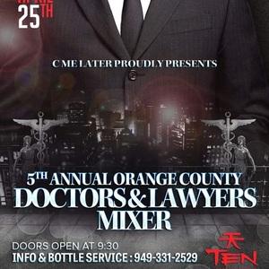 Doctors & Lawyers of OC Mixer