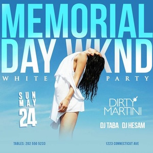 Memorial Day Weekend All White Party