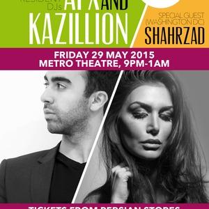East West with AFX / Kazillion / Shahrzad