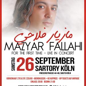 Mazyar Fallahi Live In Concert