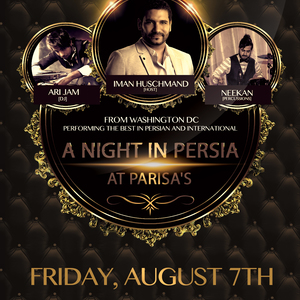 A Night In Persia at Parisa's