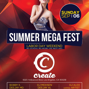 Radio Javan Labor Day Weekend Summer Mega Fest