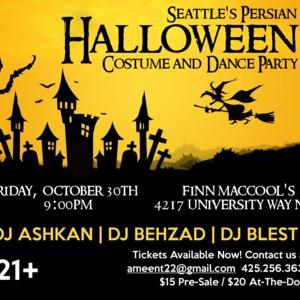 Persian Halloween Costume & Dance Party