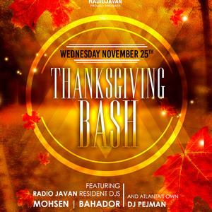 Radio Javan Thanksgiving Bash