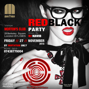 Red Black Party