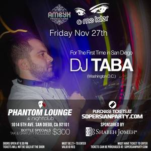 Thanksgiving Bash With DJ Taba