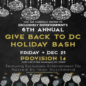 Give Back To DC Holiday Bash