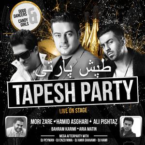 Tapesh New Year Party With Hamid Asghari, Ali Pishtaz & Mori Zare