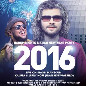Harem Nights & Atish NYE Party 2016
