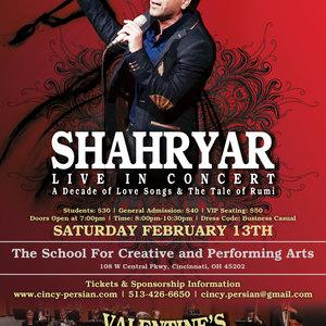 Shahryar Live In Cincinnati