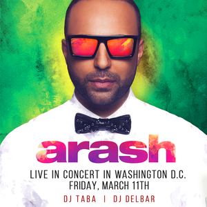 Arash Live in Washington DC
