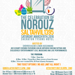 The Celebration Of Norouz: Sal Tahvil 1395