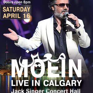 Moein Live In Calgary