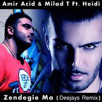 Amirhossein Zolghadri & Milad T - 'Zendegie Ma (DJ Trane & Persian Raver Remix)'