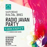 Radio Javan Party In Vancouver 2015